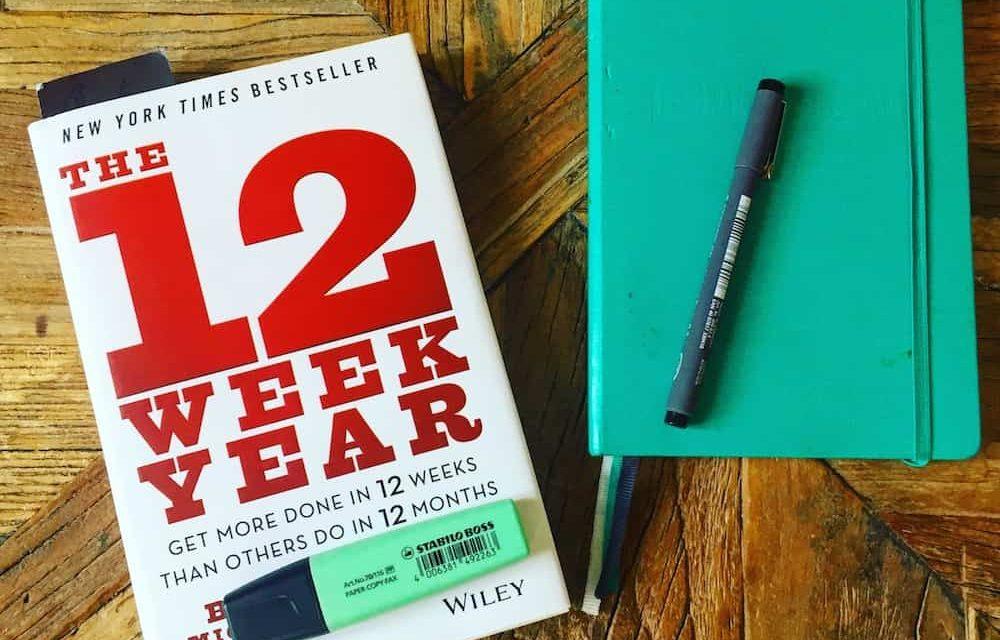 The 12 Week Year: riassunto in italiano