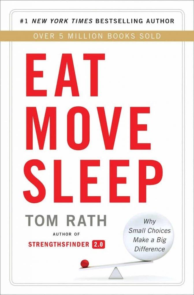 libri sul successo personale - Eat move sleep