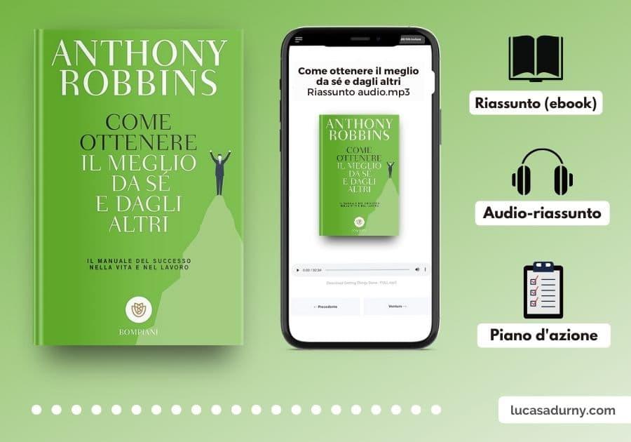 Come ottenere il meglio da sé e dagli altri riassunto italiano (eBook+audiobook)