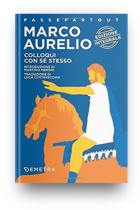 Colloqui con sé stesso Marco Aurelio - Copertina Edizione Demetra